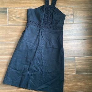 Merona Black Halter Dress